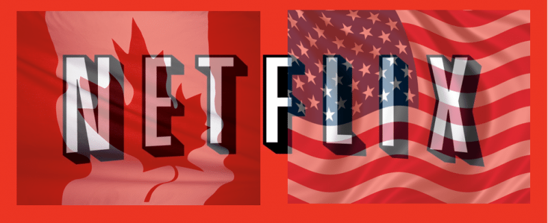 American netflix from canada