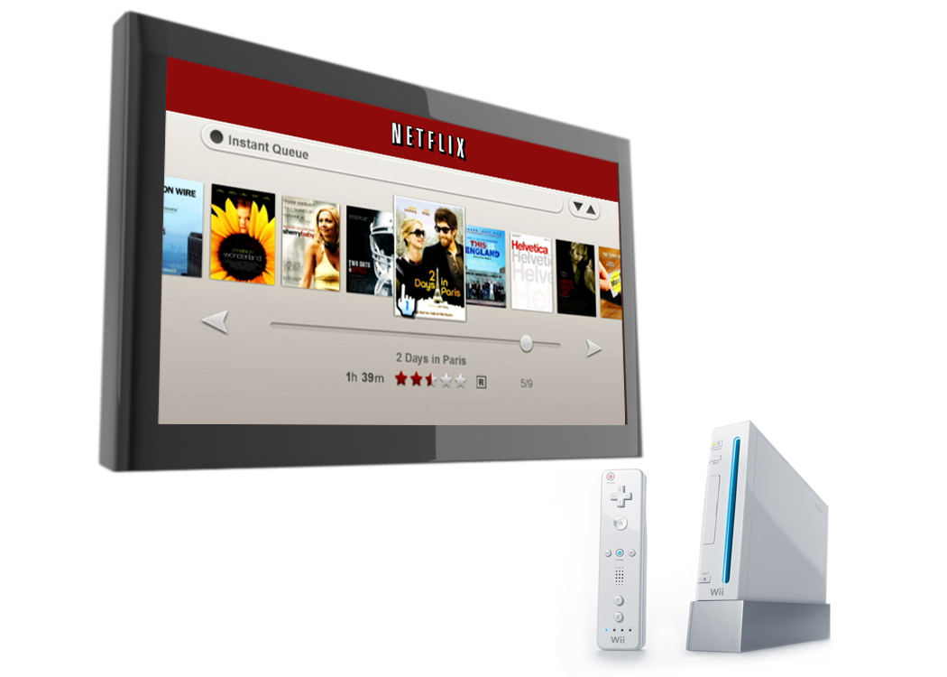 how to get netflix usa in canada on wii u