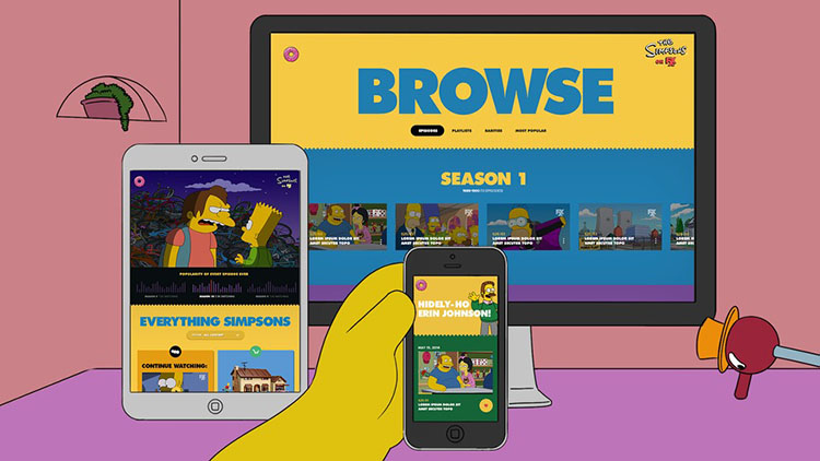 Unblock and Watch Simpsons World outside US using Smart DNS or VPN