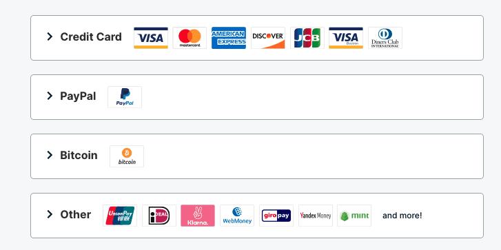 Payment Methods ExpressVPN