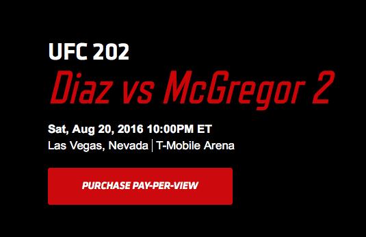 Bypass UFC Fight Pass Blackouts - Buy UFC 202 PPV via VPN