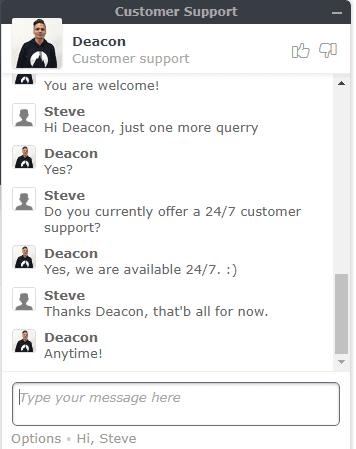NordVPN Live Chat