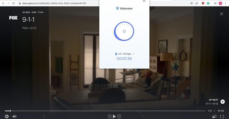 Unlocator Hulu