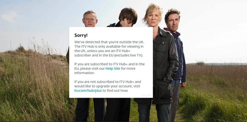 ITV Hub Error new