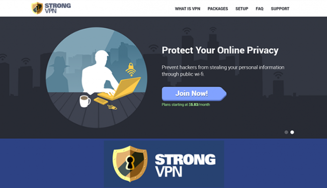 StrongVPN - Top 5 VPN for China in 2017 Review