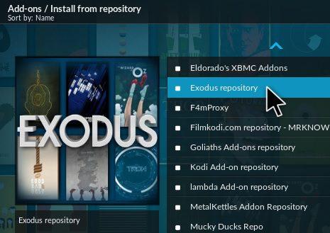 Install Exodus on Krypton 17