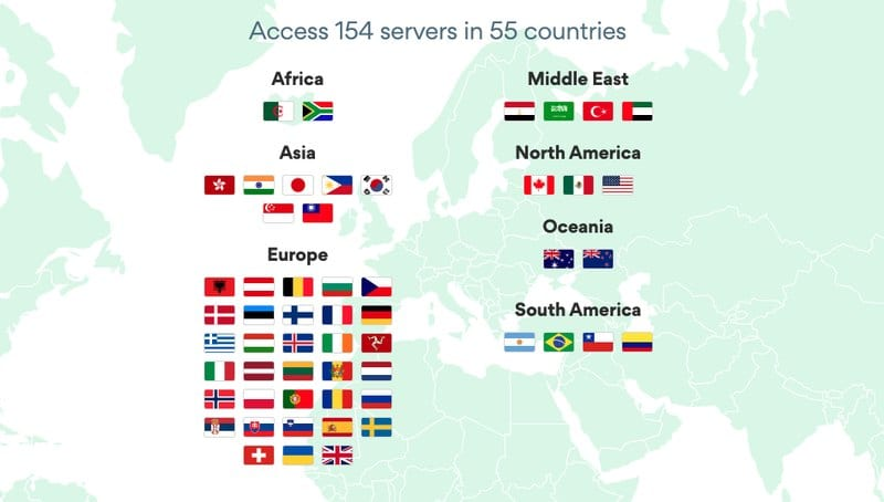 BulletVPN Updated Servers