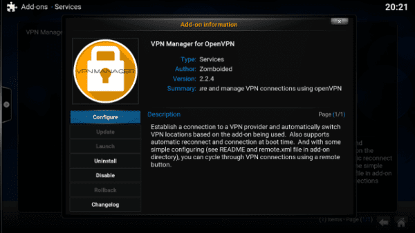 How to Install VPN Manager on Kodi