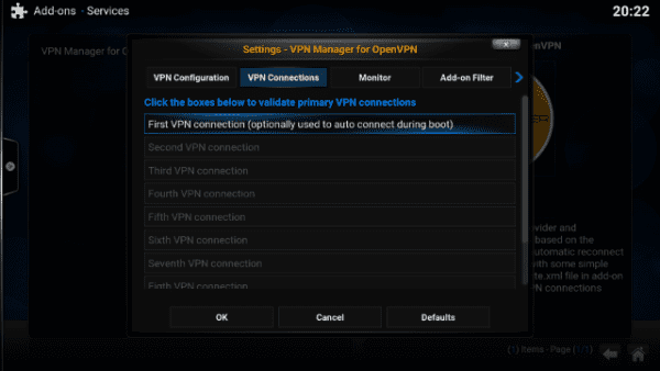 How to Setup VPN Connection on Kodi