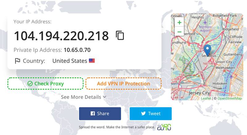 American IP Address