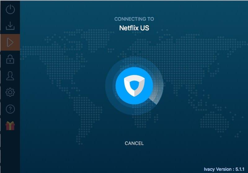 Netflix Server IVacy