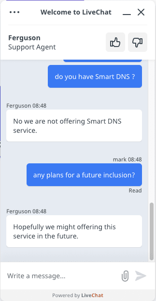 Smart DNS Ivacy