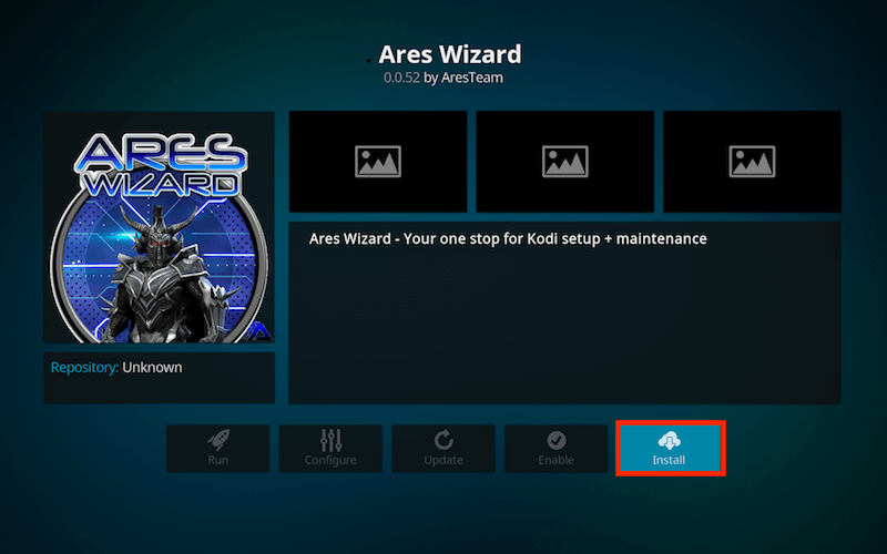 Image result for Ares Wizard on Kodi