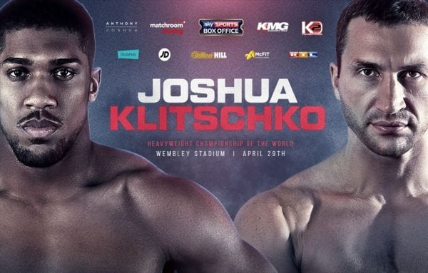 Klitschko Vs Joshua Live Stream Free