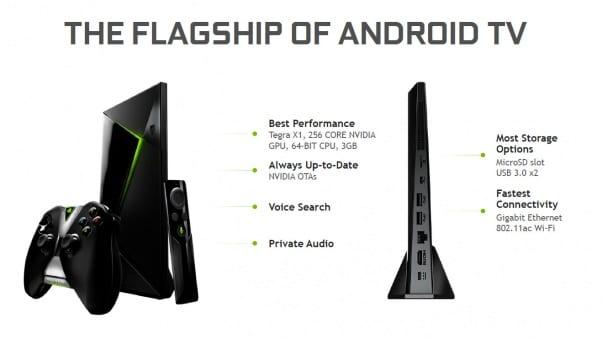 NVIDIA Shield TV vs Shield TV Pro - Specs