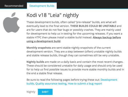 How to Install Kodi 18