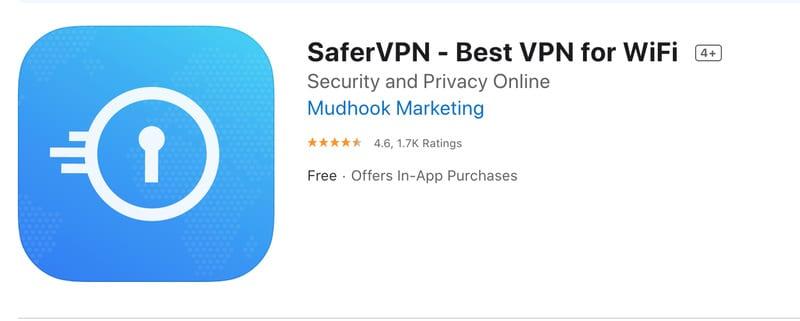 SaferVPN App Store