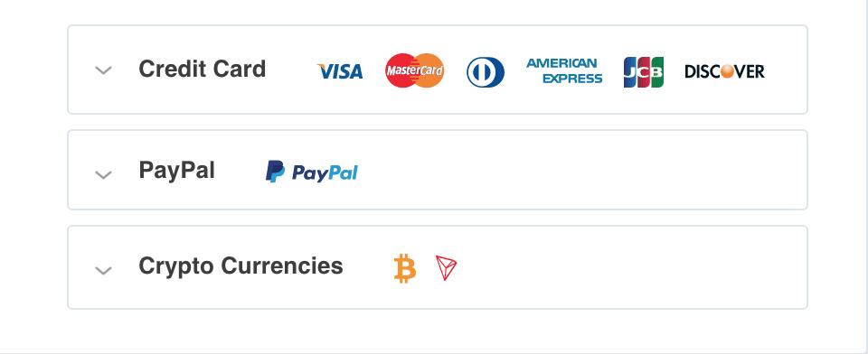 SaferVPN Payment Option