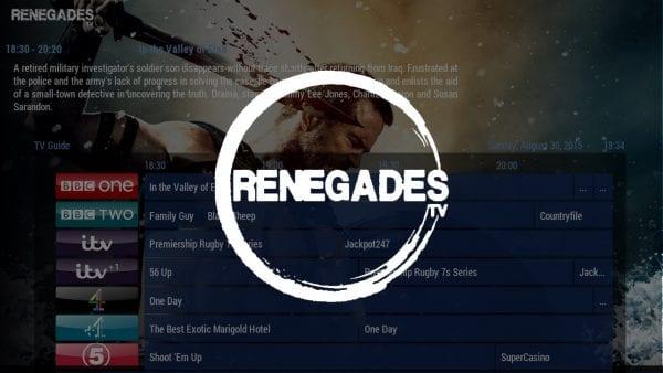 How to Install Renegades TV on Kodi 17 Krypton