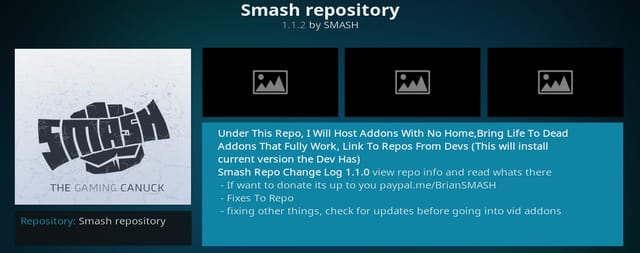 How to Install Smash Repo on Kodi 17 Krypton