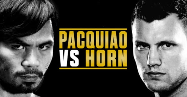 Stream Pacquiao vs Horn on Kodi Free Live?
