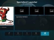 How to Install SportsDevil Launcher on Kodi via Community Portal