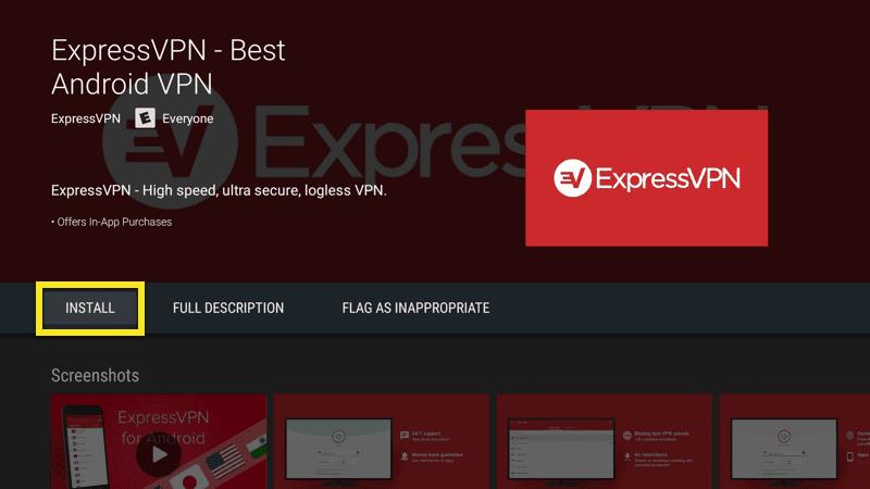 ExpressVPN Installation