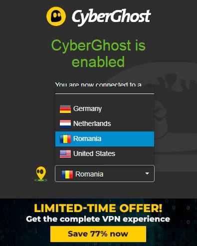 CyberGhost Extensions