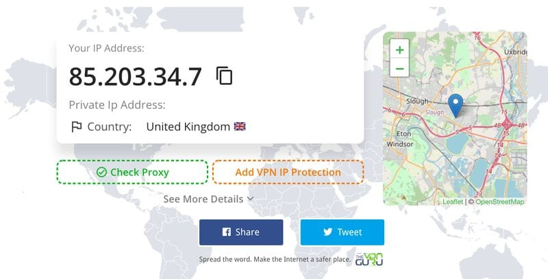 IP Address United Kingdom