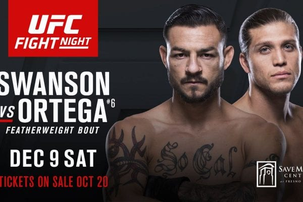 How to Watch UFC Fight Night 123 Live Online?