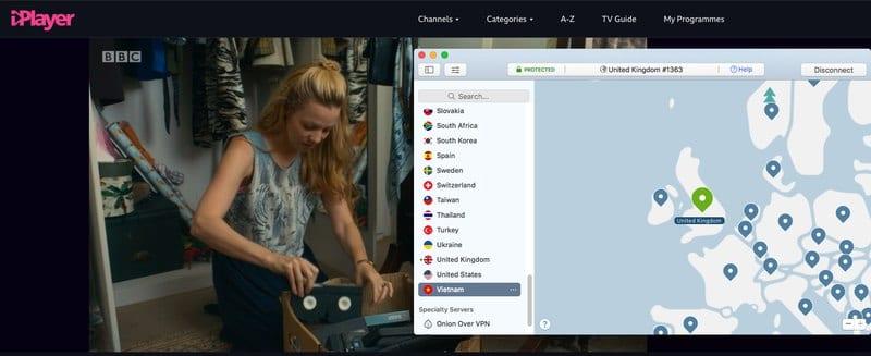 NordVPN BBC iPlayer