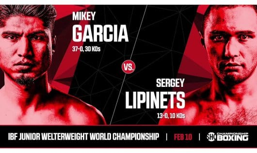 How to Watch Garcia vs Lipinets Live Stream Online?