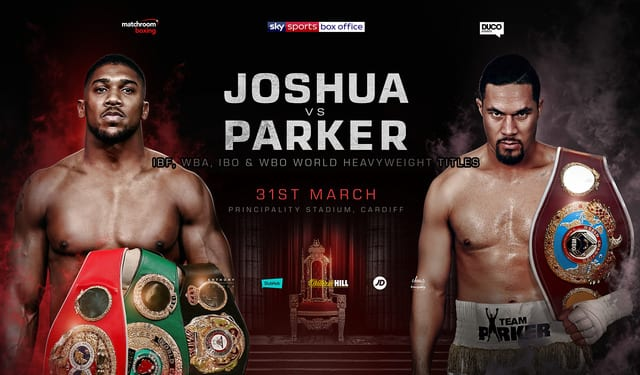 How to Watch Joshua vs Parker Live Stream Online?