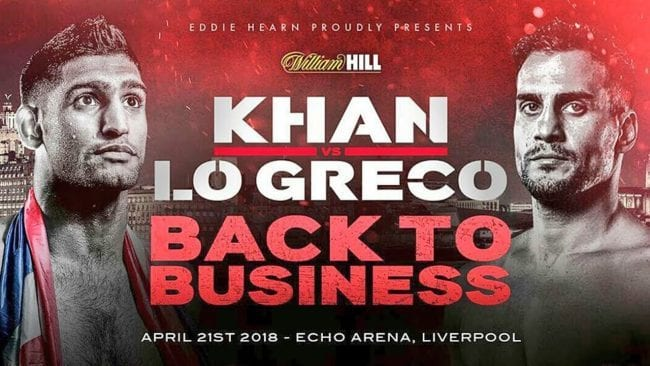How to Watch Khan vs Lo Greco Live Stream Online?