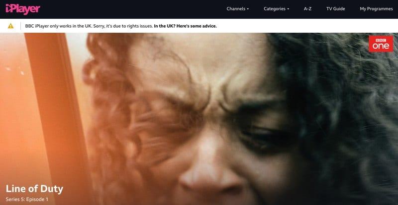 BBC iPlayer Blocked