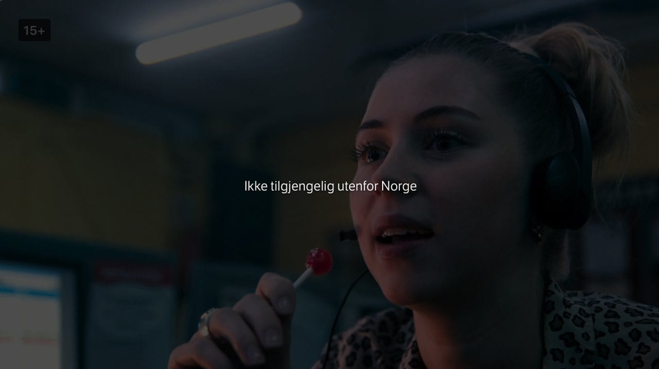 NRK Norway Error