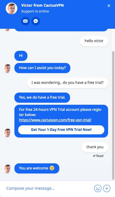 Cactus Free Trial 1