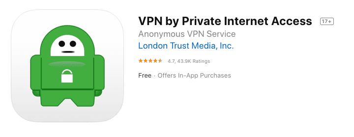 PIA App Store