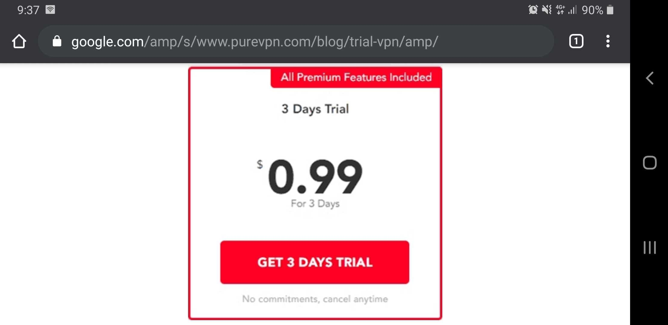 PureVPN 3-day Trial