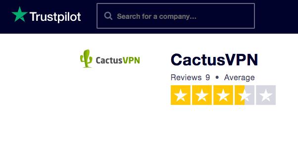 Trustpilot Cactus