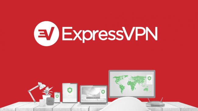 ExpressVPN Button