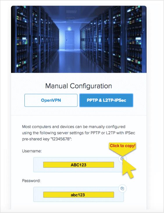 Manual Config