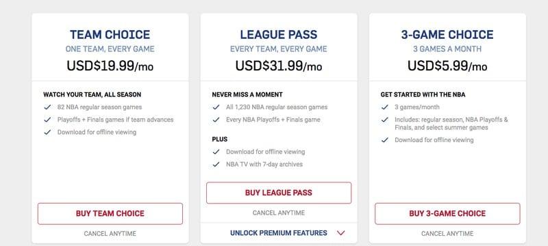 NBA League Pass Subsription