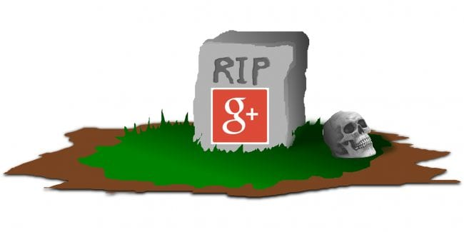 Rest in Pieces, Google+