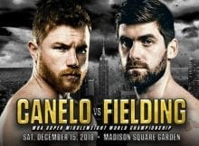 How to Watch Canelo vs Fielding Live Online