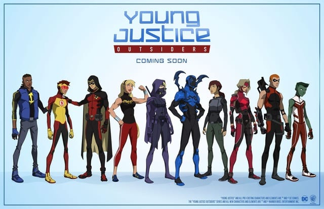 How to Watch Young Justice: Outsiders Online Outside of the U.S.A.