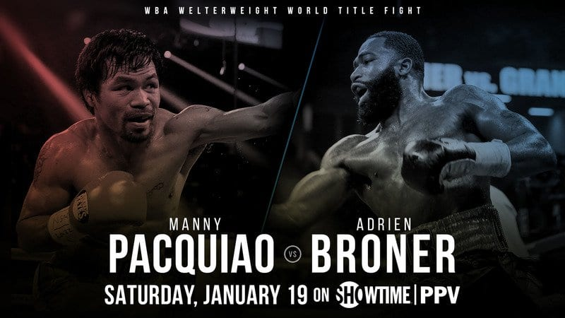 How to Watch Pacquiao vs. Broner Live Online