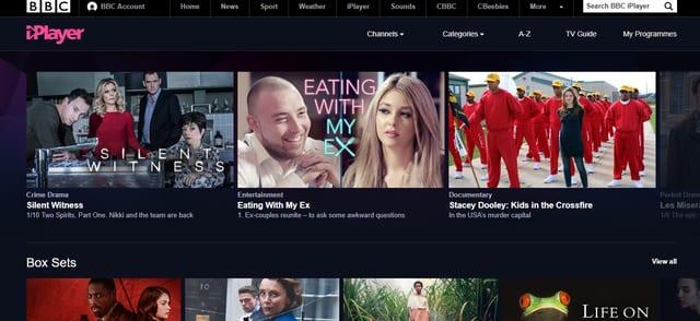 BBC iPlayer with SurfShark