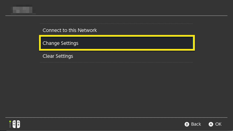 Change Internet Settings