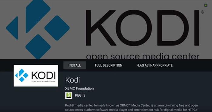 Kodi Installation 2